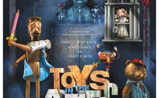 New Poster For Stop Motion Toys In The Attic English