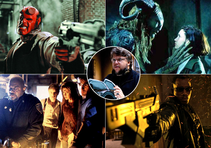 Image result for guillermo del toro movies