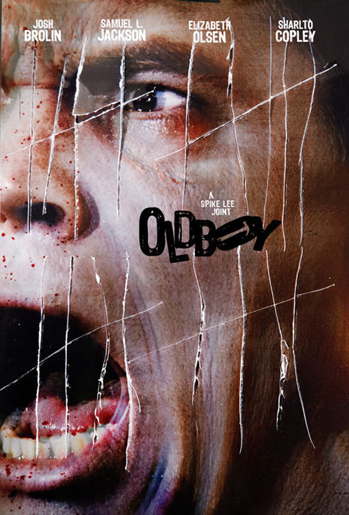 Image result for oldboy poster 2013