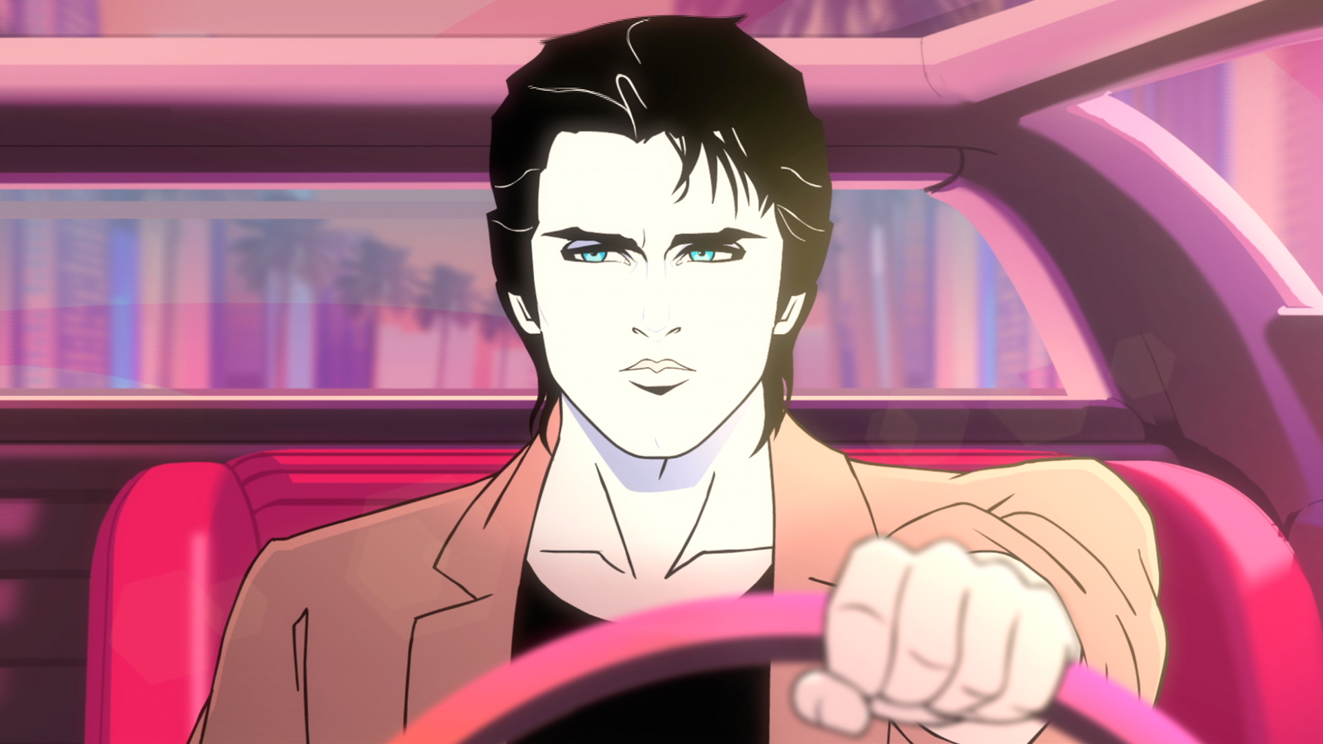 Animated Fall Wallpaper Moonbeam City Creator Scott Gairdner Reached For The