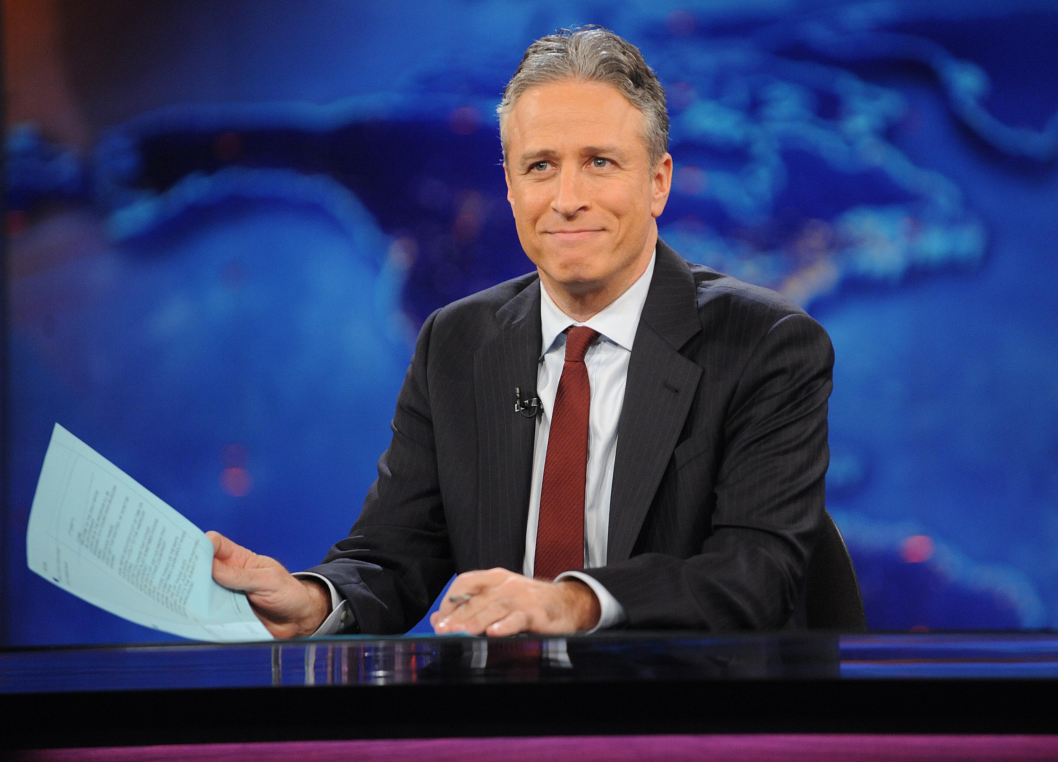 Image result for Jon Stewart photo