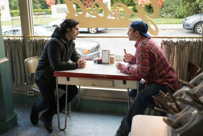 Jesse y Luke en Gilmore Girls temporada 8.