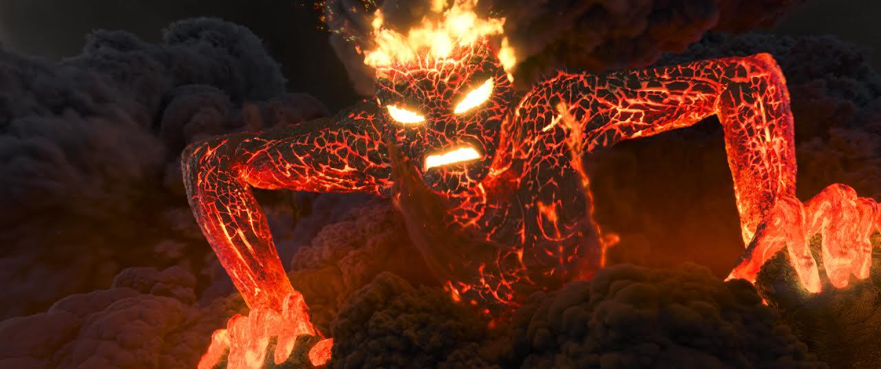Moana Lava Monster Return