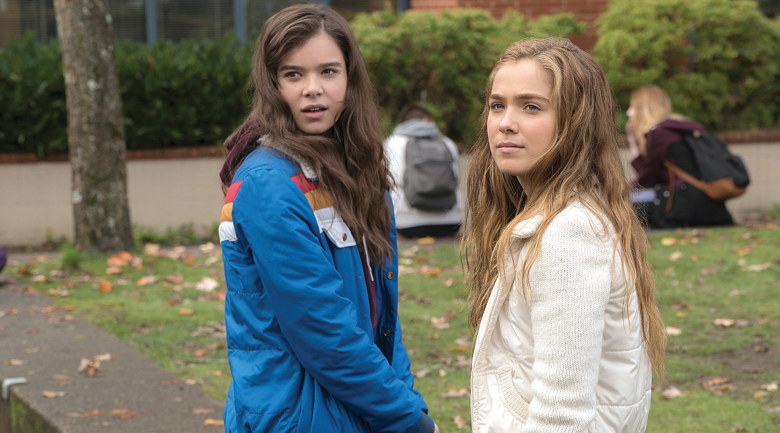 Haley Lu Richardson in the Edge of Seventeen