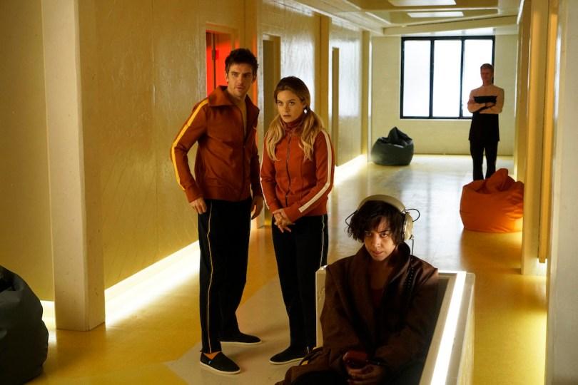 "LEGION Chapter 1 Dan Stevens as David Haller, Rachel Keller as Syd Barrett, Aubrey Plaza as Lenny ""Cornflakes"" Busker"