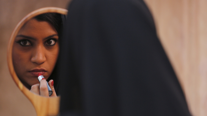 Image result for lipstick under my burkha poster