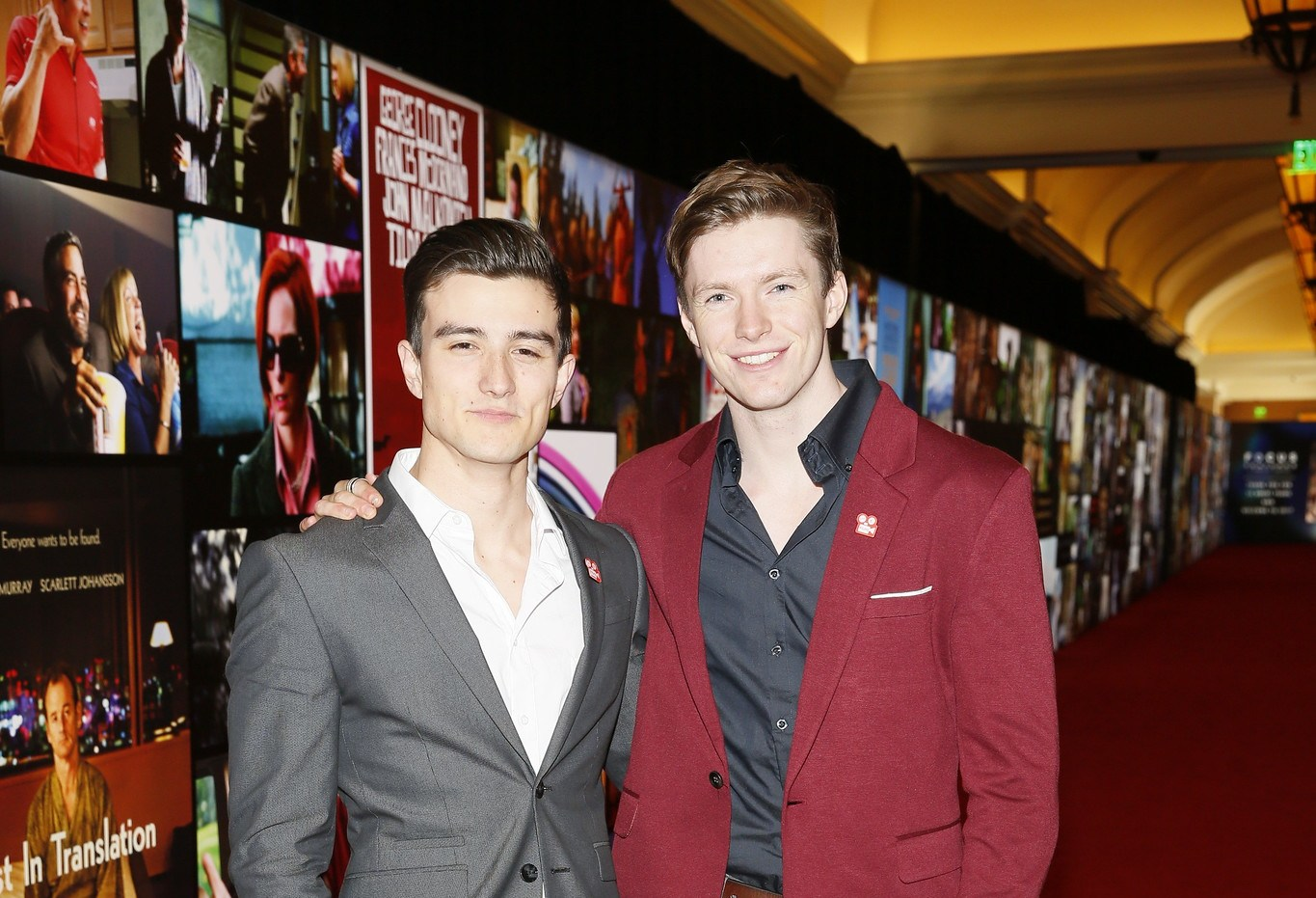 From left, winners Julian Conner and Tom Teller, Chapman University, pose during the Coca-Cola and Regal Film Program Event held at Caesars Palace during CinemaCon, the official convention of the National Association of Theatre Owners, on March 27, 2017 in Las Vegas, Nevada. (Photo by Ryan Miller/Capture Imaging for CinemaCon)