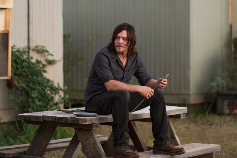 Hatchet Girl Wallpaper The Walking Dead Review Season 7 Episode 14 The Other