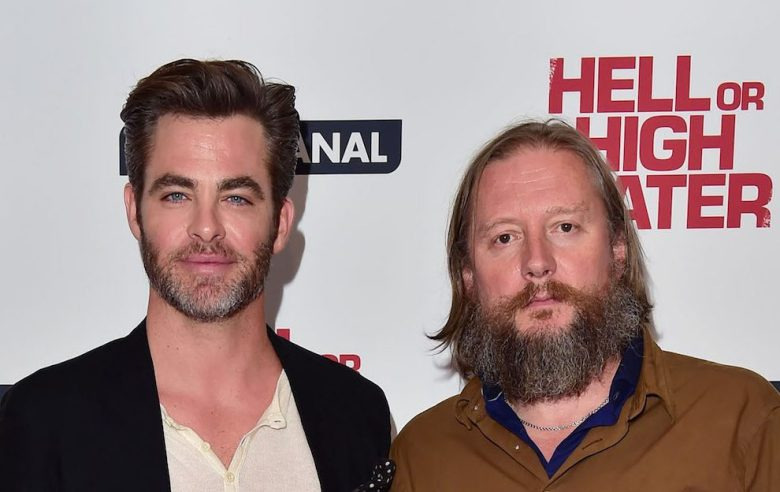 Chris Pine and David Mackenzie