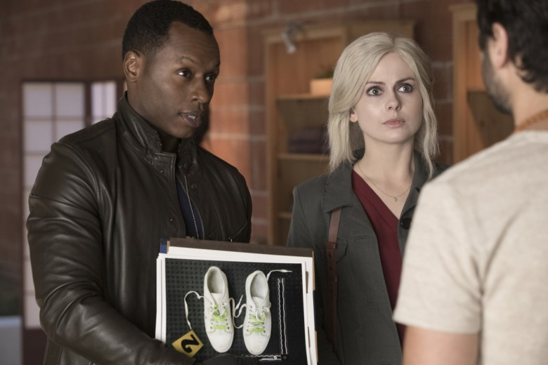"""Malcolm Goodwin and Rose McIver, """"iZombie"""""""