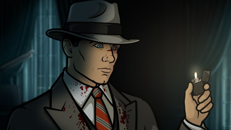 """ARCHER -- """"Waxing Gibbous"""" -- Season 8, Episode 6 (Airs May 10, 10:00 pm e/p) Pictured: Sterling Archer (voice of H. Jon Benjamin). CR: FXX"""