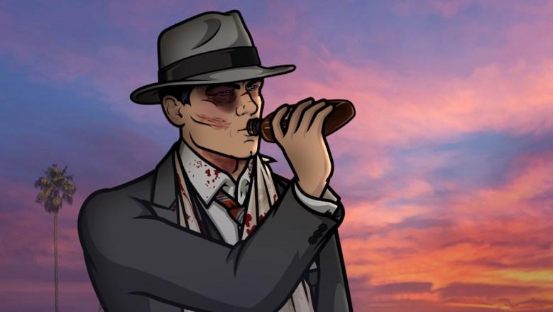 Sad Animation Wallpaper Archer Season 8 Finale Dreamland Gets Sidetracked