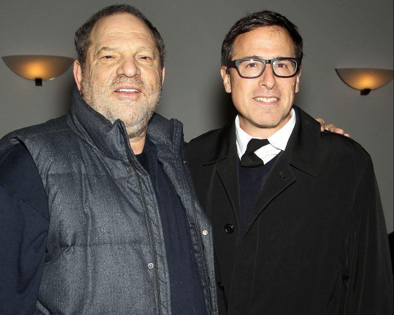 Harvey Weinstein and David O Russell (Director)'Silver Linings Playbook' special film screening, New York, America - 11 Nov 2012