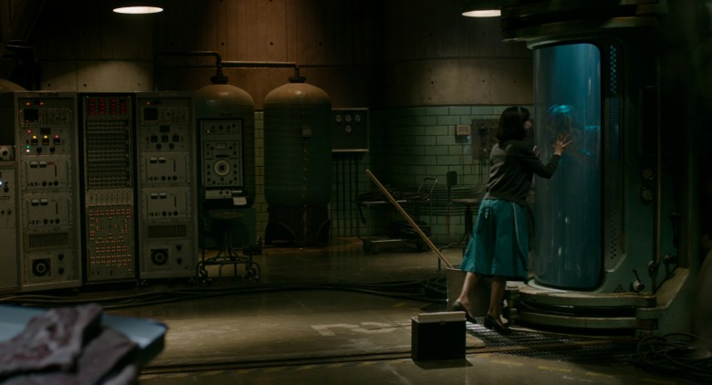 Sally Hawkins and Doug Jones in the film THE SHAPE OF WATER. Photo Courtesy of Fox Searchlight Pictures