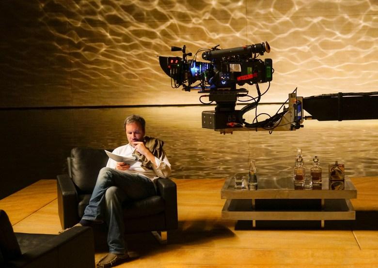 """Denis Villeneuve on the set of """"Blade Runner 2049"""""""