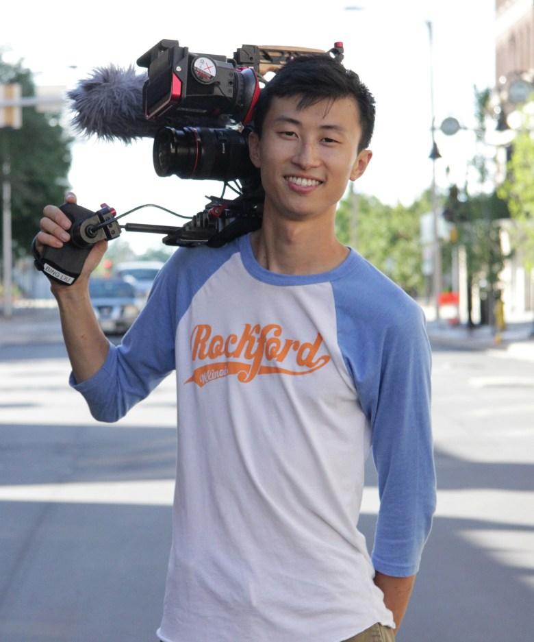 """Minding the Gap"" director Bing Liu"