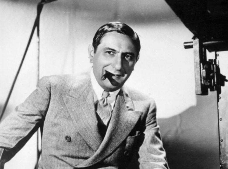 Ernst Lubitsch, German-American motion picture director, Los Angeles. Undated pictureERNST LUBITSCH, LOS ANGELES, USA