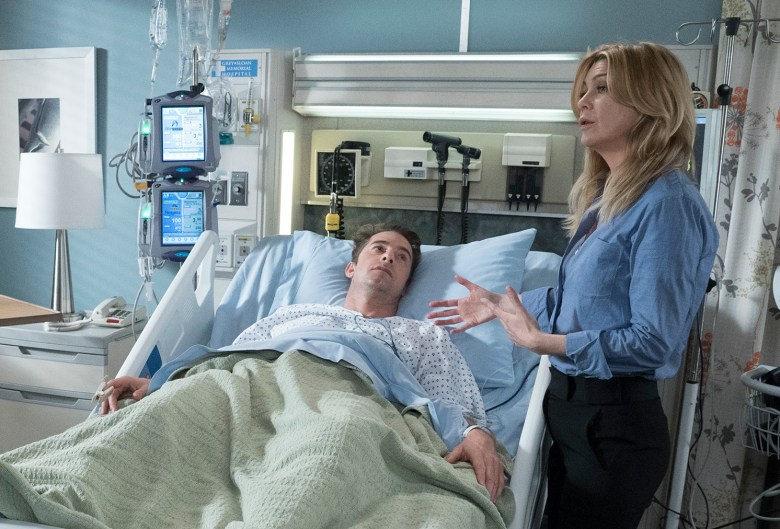 "Scott Speedman and Ellen Pompeo, ""Grey's Anatomy"""