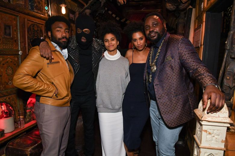 Donald Glover, LaKeith Stanfield, Zazie Beetz, Stefani Robinson, and Brian Tyree Henry
