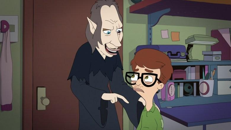 Big Mouth Season 2 Shame Wizard