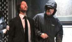 'John Wick 3': Keanu Reeves Behind the Scenes