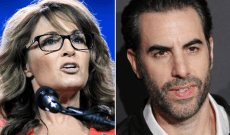 Sacha Baron Cohen Keeps Trolling Sarah Palin, Invites Her to Be Golden Globes Date