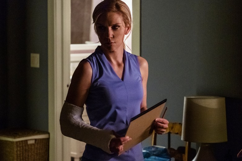 Rhea Seehorn as Kim Wexler- Better Call Saul _ Season 4, Episode 6 - Photo Credit: Nicole Wilder/AMC/Sony Pictures Television