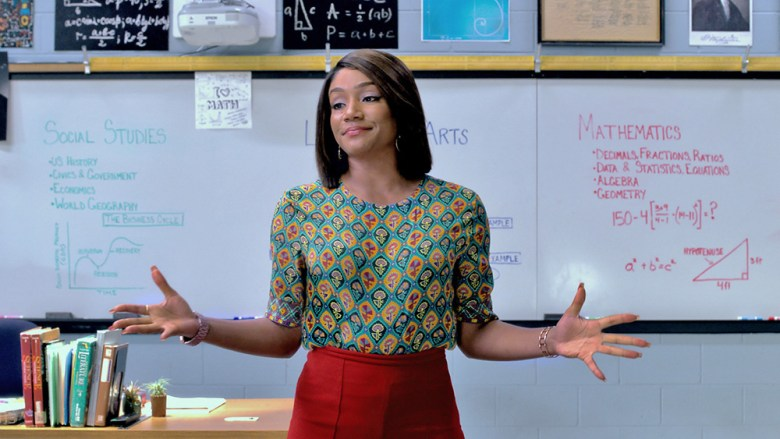 """TIFFANY HADDISH stars in """"Night School,"""" the new comedy from director Malcolm D. Lee (""""Girls Trip"""") that follows a group of misfits who are forced to attend adult classes in the longshot chance they'll pass the GED exam."""