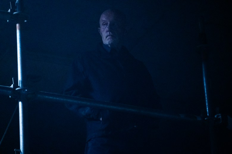 Jonathan Banks as Mike Ehrmantraut- Better Call Saul _ Season 4, Episode 10 - Photo Credit: Nicole Wilder/AMC/Sony Pictures Television