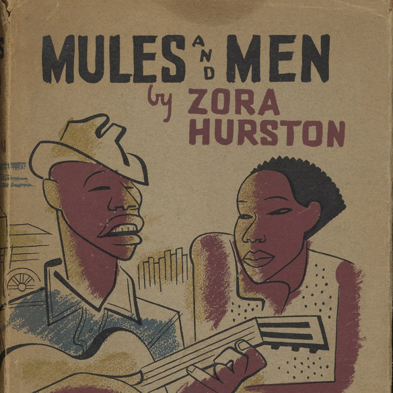 "Cover of Zora Neale Hurston's ""Mules and Men"""