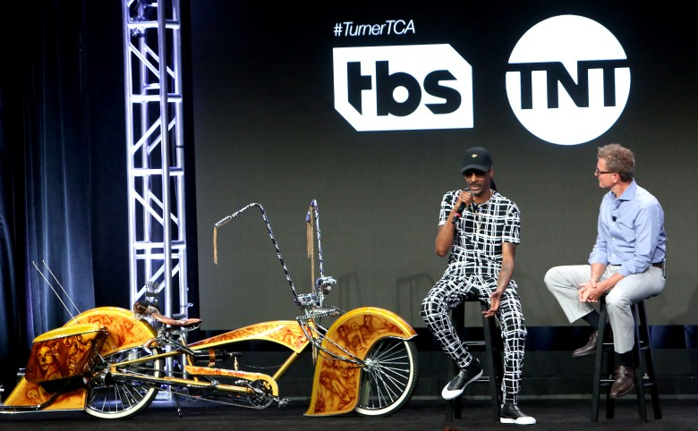 Snoop Dogg and Kevin ReillyTurner Networks Kevin Reilly Executive Session, TCA Summer Press Tour, Los Angeles, USA - 27 Jul 2017