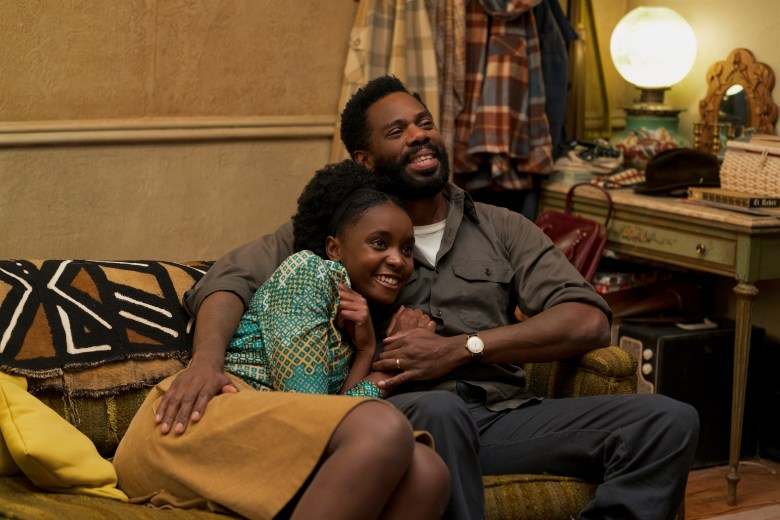 KiKi Layne as Tish and Colman Domingo as Joseph star in Barry Jenkins' IF BEALE STREET COULD TALK, an Annapurna Pictures release.