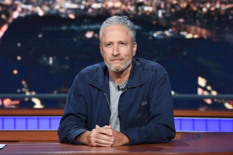 Jon Stewart Responds To Mitch Mcconnell On Stephen Colbert