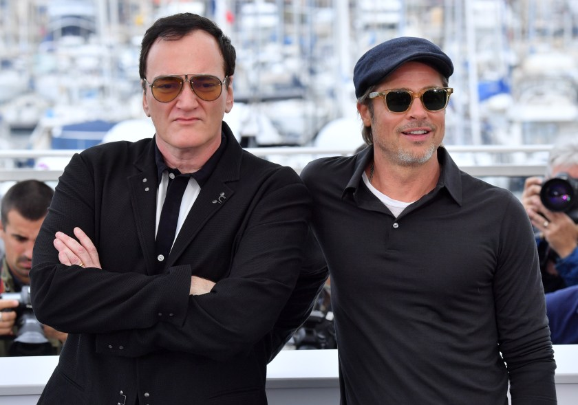 The Coincidence That Reunited Tarantino, Brad Pitt for 'Hollywood ...