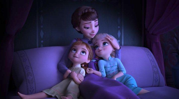 frozen 2 loves mom