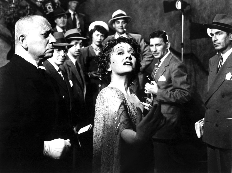 SUNSET BOULEVARD, Erich von Stroheim, Gloria Swanson, 1950, 'pronto para meu close up'