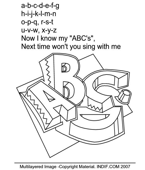 English Coloring Activities Coloring Pages