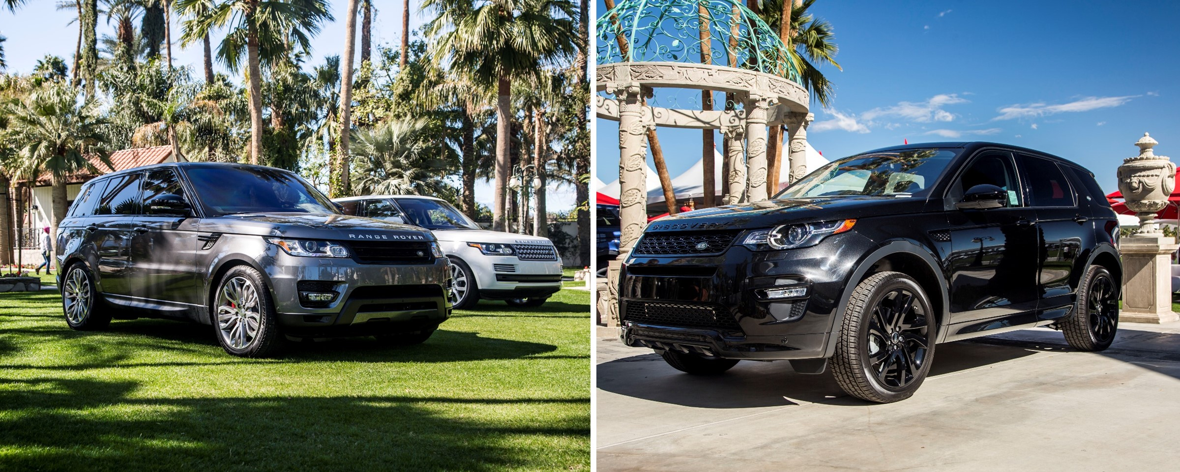 Land Rover Rancho Mirage Showcases New Models at Empire Polo Club