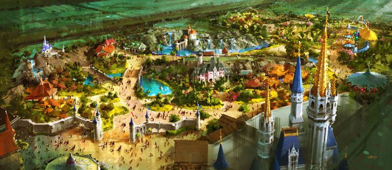 Image result for d23 new fantasyland