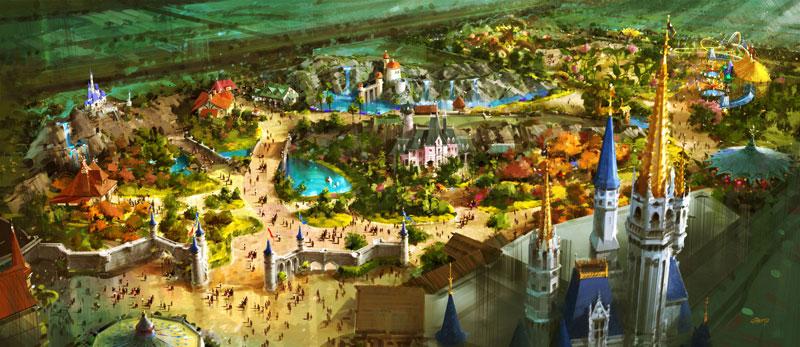 Image result for d23 new fantasyland