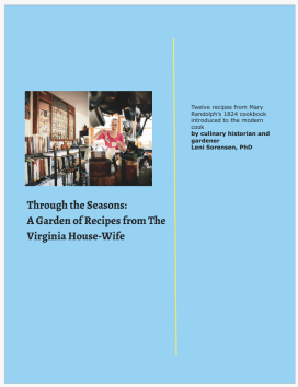 cover for Through the seasons with Mary Randolph v2