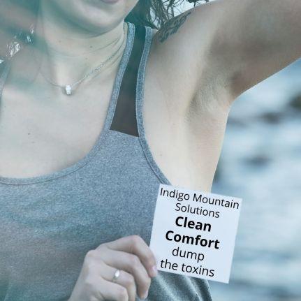Clean comfort dump the toxins