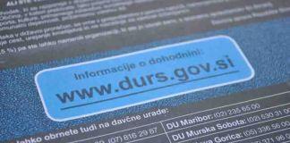Opomin pred davčno izvršbo - FURS