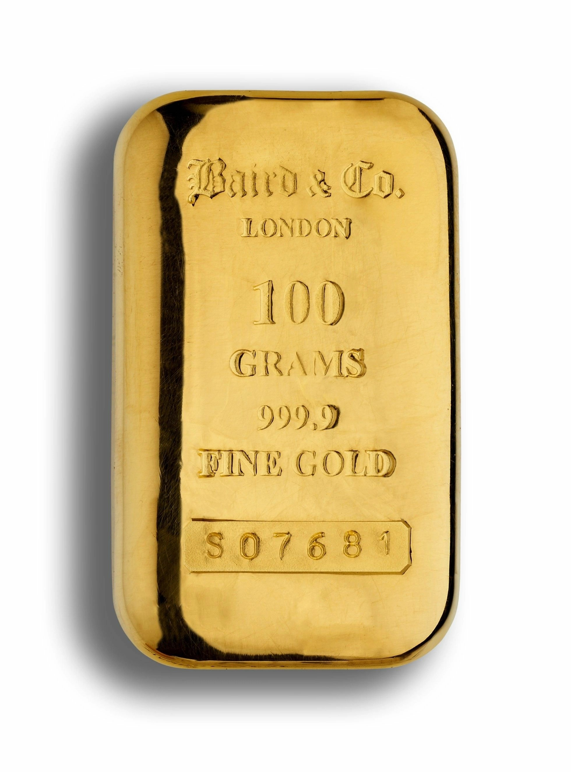 100 gram gold cast