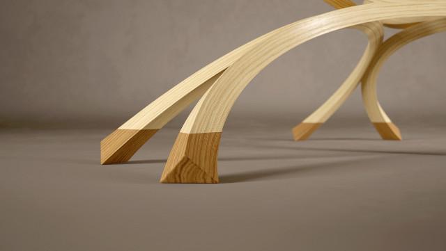Woodworked furniture renders by Headroom  Indigo Renderer