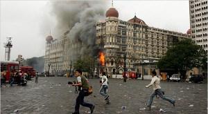 Taj Mahal hotel durante attentati di novembre 2008
