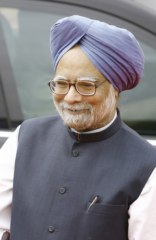 Il premier indiano Manmohan Singh