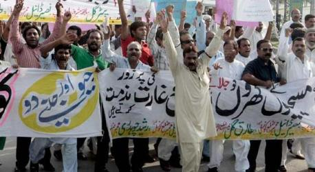 Violenze Gojra foto Dawn.com