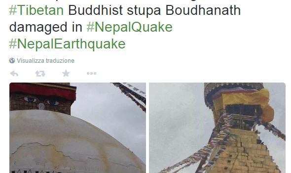 L'eredità storica del Nepal ridotta in cenere.