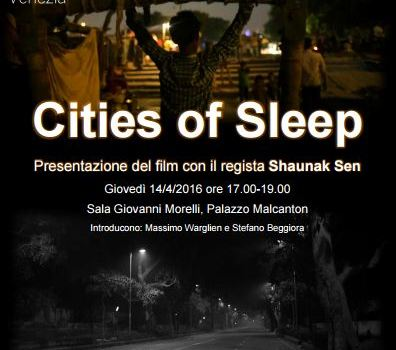 """Cities of Sleep"", un documentario su Delhi"
